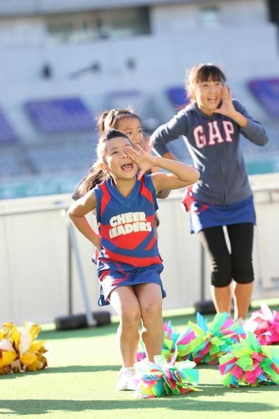 チアらんど-FC東京ーホームゲームーチアスクール出演ー味の素スタジアム20131123_21