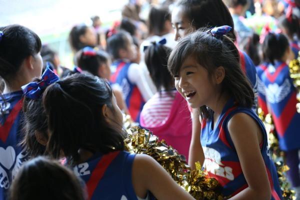 チアらんど-FC東京ーホームゲームーチアスクール出演ー味の素スタジアム20131123_20