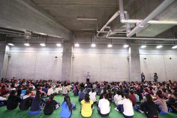 チアらんど-FC東京ーホームゲームーチアスクール出演ー味の素スタジアム20131123_13