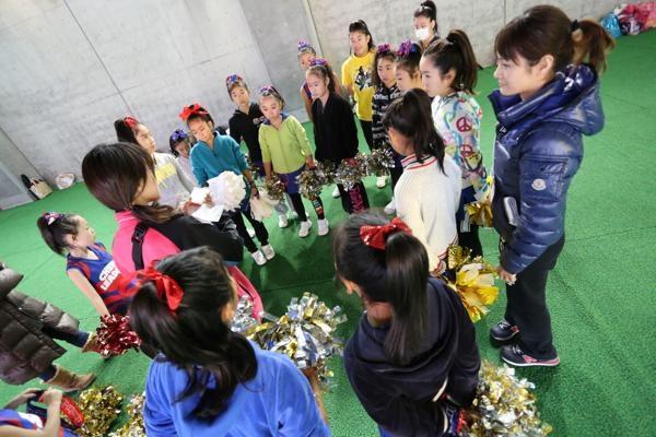 チアらんど-FC東京ーホームゲームーチアスクール出演ー味の素スタジアム20131123_14