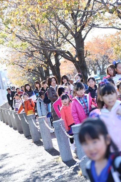 チアらんど-FC東京ーホームゲームーチアスクール出演ー味の素スタジアム20131123_1