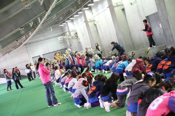 チアらんど-FC東京ーホームゲームーチアスクール出演ー味の素スタジアム20131123_4
