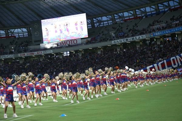 チアらんど-FC東京ーホームゲームーチアスクール出演ー味の素スタジアム20131123_32