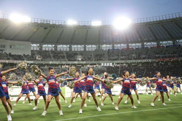 チアらんど-FC東京ーホームゲームーチアスクール出演ー味の素スタジアム20131123_31