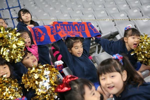チアらんど-FC東京ーホームゲームーチアスクール出演ー味の素スタジアム20131123_46