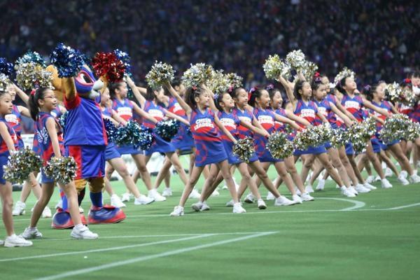チアらんど-FC東京ーホームゲームーチアスクール出演ー味の素スタジアム20131123_33