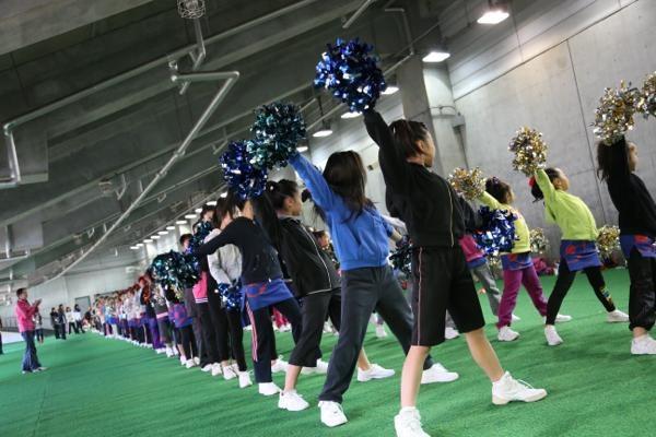 チアらんど-FC東京ーホームゲームーチアスクール出演ー味の素スタジアム20131123_5