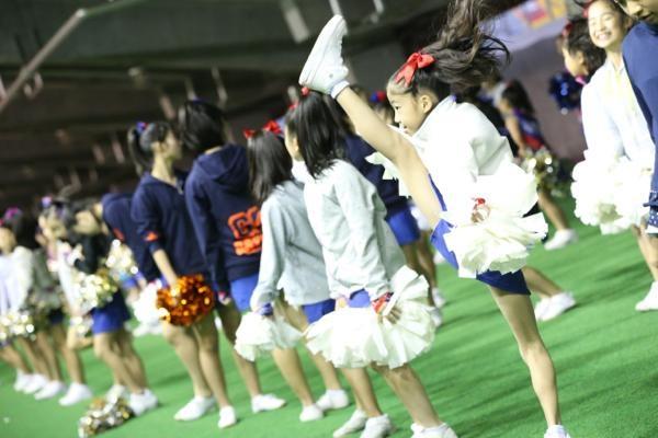 チアらんど-FC東京ーホームゲームーチアスクール出演ー味の素スタジアム20131123_28