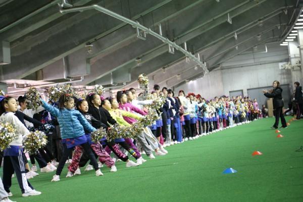 チアらんど-FC東京ーホームゲームーチアスクール出演ー味の素スタジアム20131123_7