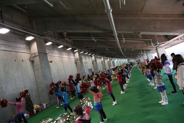 チアらんど-FC東京ーホームゲームーチアスクール出演ー味の素スタジアム20131123_3