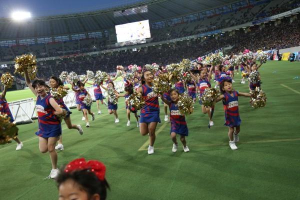 チアらんど-FC東京ーホームゲームーチアスクール出演ー味の素スタジアム20131123_36