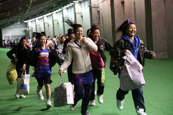 チアらんど-FC東京ーホームゲームーチアスクール出演ー味の素スタジアム20131123_42