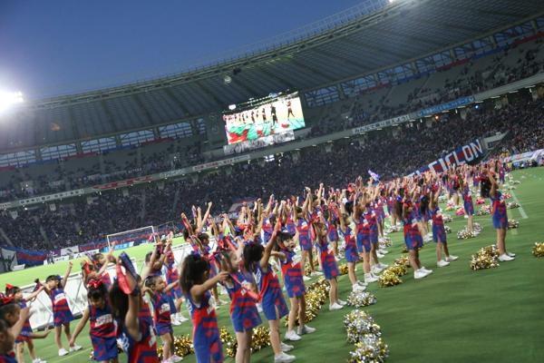 チアらんど-FC東京ーホームゲームーチアスクール出演ー味の素スタジアム20131123_35