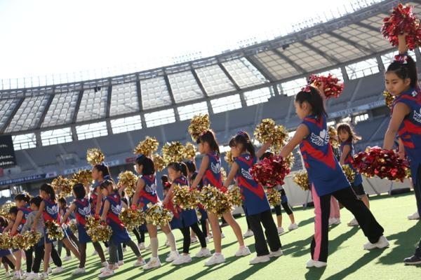 チアらんど-FC東京ーホームゲームーチアスクール出演ー味の素スタジアム20131123_17