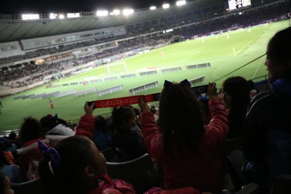 チアらんど-FC東京ーホームゲームーチアスクール出演ー味の素スタジアム20131123_47
