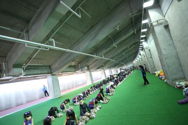 チアらんど-FC東京ーホームゲームーチアスクール出演ー味の素スタジアム20131123_6