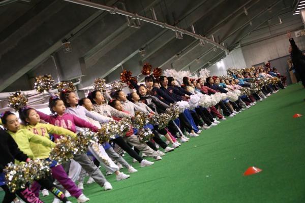 チアらんど-FC東京ーホームゲームーチアスクール出演ー味の素スタジアム20131123_11