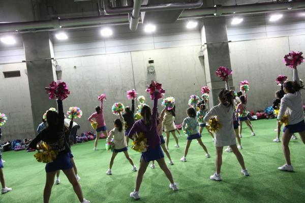 チアらんど-FC東京ーホームゲームーチアスクール出演ー味の素スタジアム20131123_27