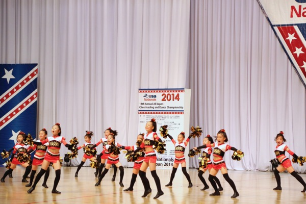cheerland_All Japan Cheerleading and Dance Championship Nationals 2014_「ダンススタジオ夢工房 CHASERS」_2
