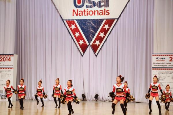 cheerland_All Japan Cheerleading and Dance Championship Nationals 2014_「ダンススタジオ夢工房 CHASERS」_1