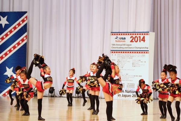 cheerland_All Japan Cheerleading and Dance Championship Nationals 2014_「ダンススタジオ夢工房 CHASERS」_3
