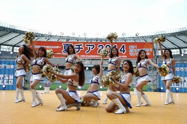 夏チア-東京ガスクリエイターズチアリーダー-5
