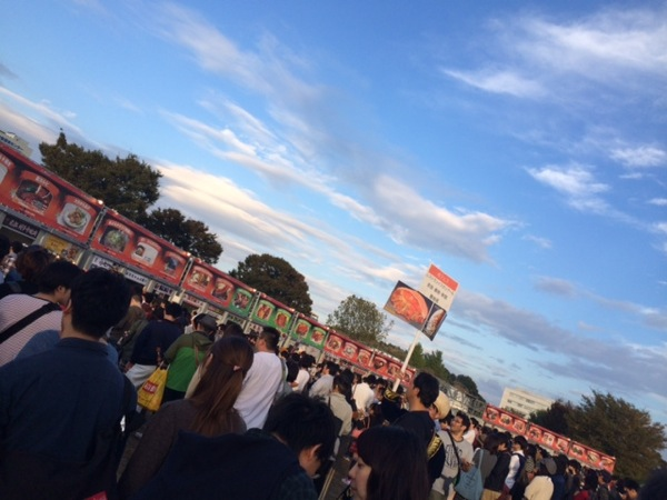 cheer_チアらんど_ディレクター日記_肉フェス TOKYO 2014 秋@国営昭和記念公園_7
