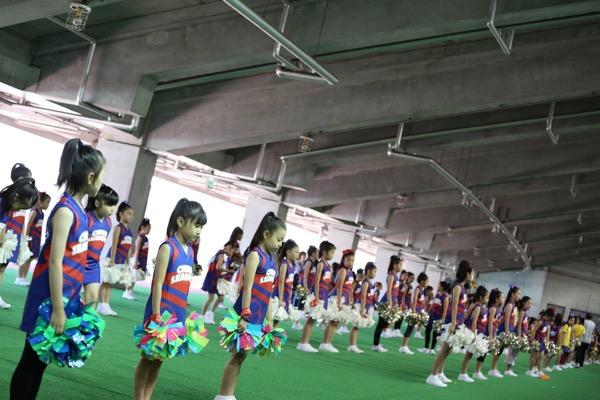 FC東京キッズチア出演-味の素スタジアム-3