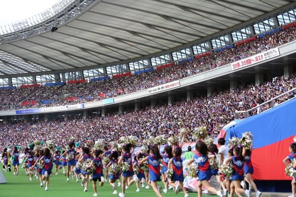FC東京キッズチア出演-味の素スタジアム-17