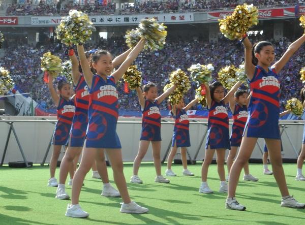 FC東京キッズチア出演-味の素スタジアム-20