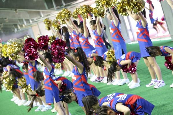 FC東京キッズチア出演-味の素スタジアム-8
