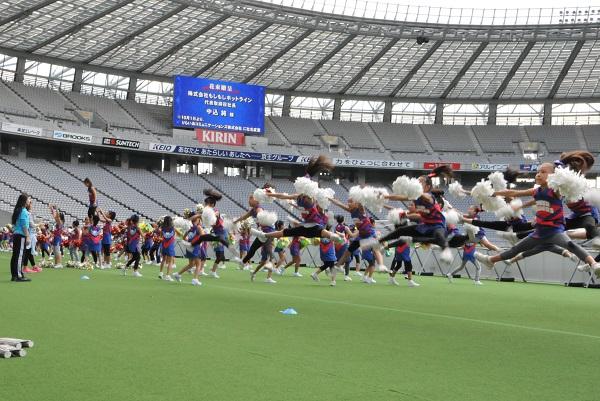 FC東京キッズチア-味の素スタジアム-13