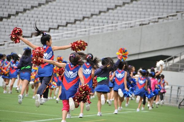 FC東京キッズチア-味の素スタジアム-21