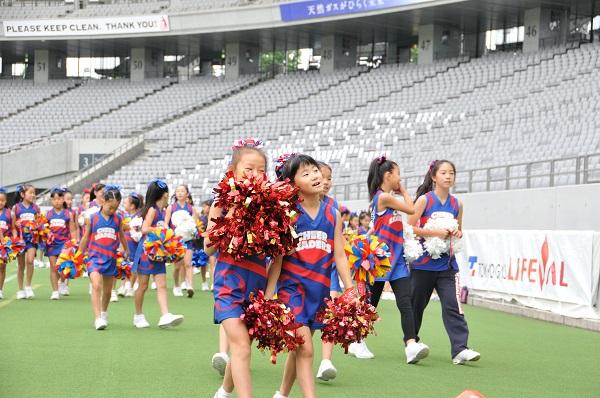FC東京キッズチア-味の素スタジアム-22