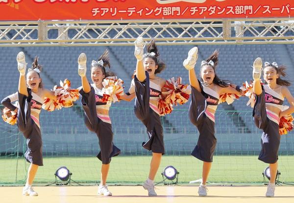 川崎百合丘チアスクールDスターズ3