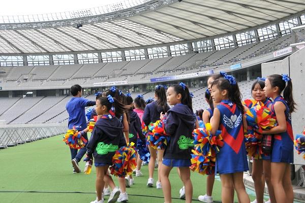 FC東京キッズチア-味の素スタジアム-9