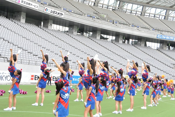 FC東京キッズチア‐味の素スタジアム‐12