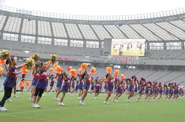 FC東京キッズチア‐味の素スタジアム‐13