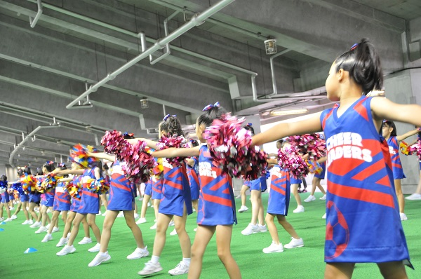 FC東京キッズチア‐味の素スタジアム‐6