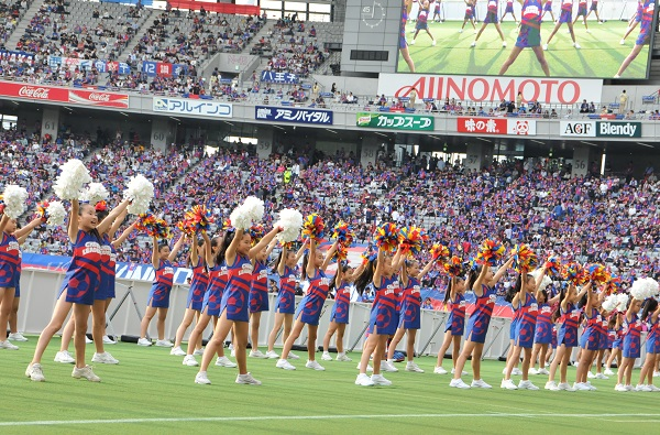 FC東京キッズチア‐味の素スタジアム23
