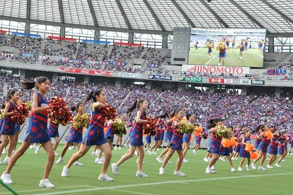 FC東京キッズチア‐味の素スタジアム19