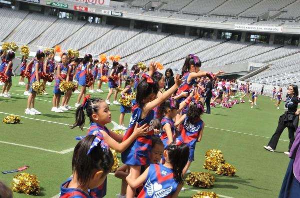 FC東京キッズチア‐味の素スタジアム10