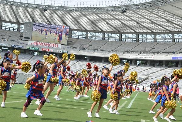 FC東京キッズチア‐味の素スタジアム13