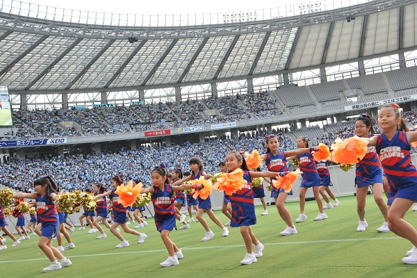 FC東京キッズチア‐味の素スタジアム20