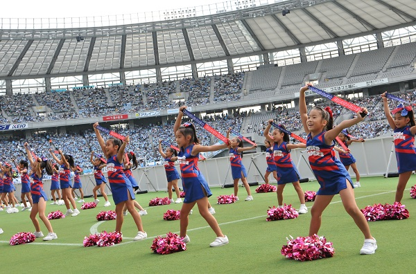 FC東京キッズチア‐味の素スタジアム25