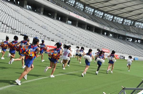 FC東京キッズチア‐味の素スタジアム11