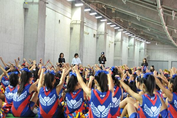 FC東京キッズチア‐味の素スタジアム6