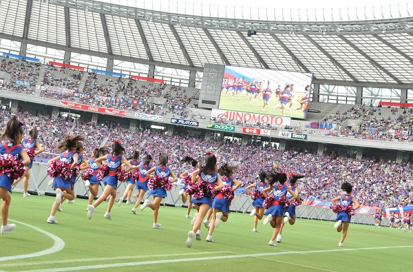 FC東京キッズチア‐味の素スタジアム17
