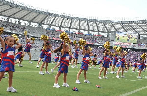 FC東京キッズチア‐味の素スタジアム18