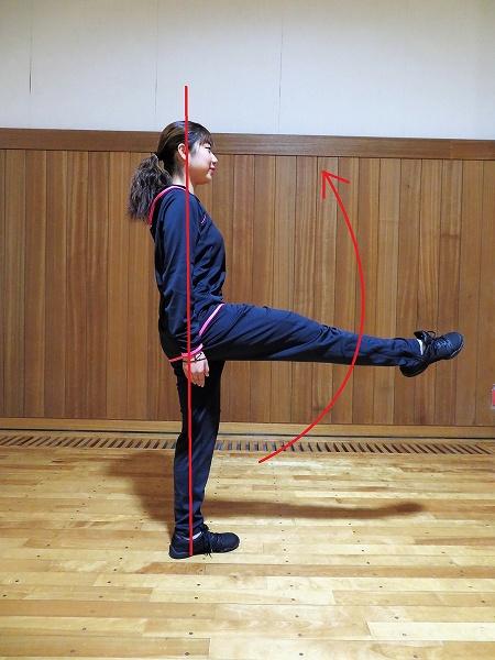 ジュッテ①:チアテクニックのためのトレーニング